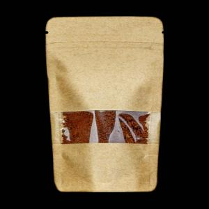 Kraft Paper Doypack with Window (122/152/162µ)