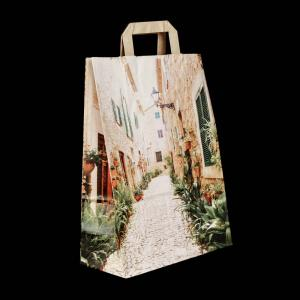 Tote Bags with Neutral Motif