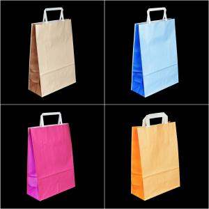 Two-Tone Paper Bags
