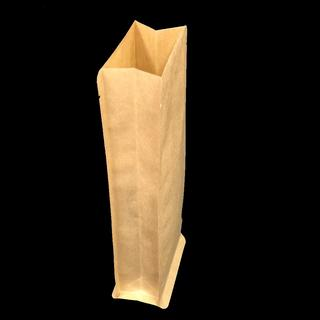 Kraft Paper Side Gusset - No Zip