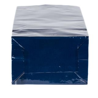 Block Bottom Bag- 3 Layered- 55x175+30mm Blue