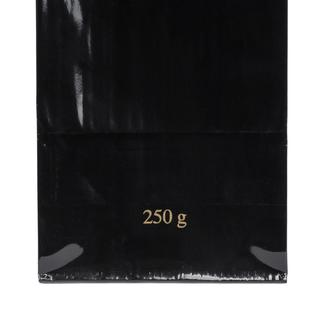 Block Bottom Bag- 3 Layered- 70x205+40mm Black