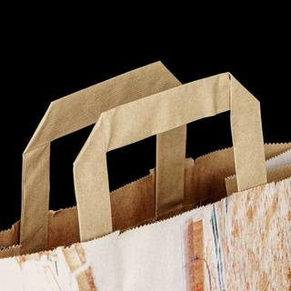 Kraft Paper Bag with Motif