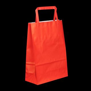Coloured Paper Bags with Flat Handles
